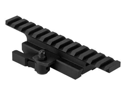 NcStar AR-15 Aluminum 1-Piece Riser w/ Locking Mount, Black - MARFQV2