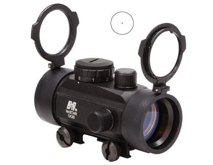 NcStar 1x30mm Reflex Sight, Illuminated 3 MOA Red Dot - DBB130