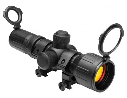 NcStar Compact Tactical 3-9x42mm Illuminated P4 Sniper Rifle Scope - SEECR3942R