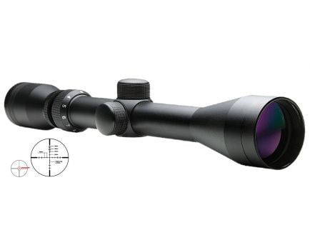 NcStar Shooter 3-9x40mm P4 Sniper Rifle Scope - SFB3940G