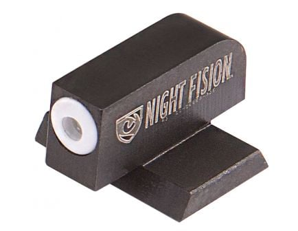 Night Fision Perfect Dot Front Night Sight for Canik TP9SFx and TP9SFL Handguns, Green with White Outline - CNK-025-001-WGXX