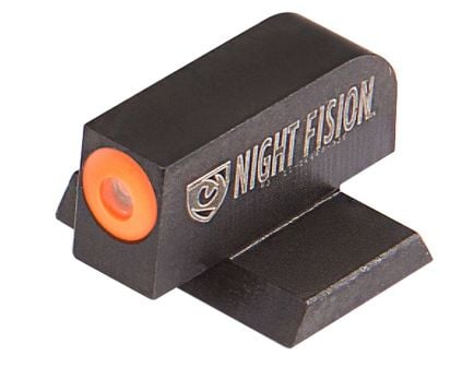 Night Fision Perfect Dot Front Night Sight for Canik TP9SFx and TP9SFL Handguns, Green with Orange Outline - CNK-025-001-OGXX