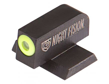 Night Fision Perfect Dot Front Night Sight for Canik TP9SFx and TP9SFL Handguns, Green with Yellow Outline - CNK-025-001-YGXX