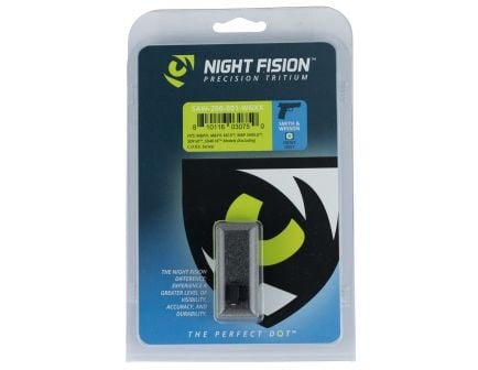 Night Fision Perfect Dot Front Night Sight for Smith & Wesson M&P and SD9 VE Pistols, Green with White Outline - SAW-200-001-WGXX