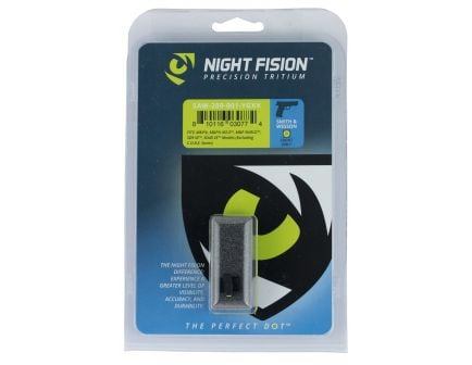 Night Fision Perfect Dot Front Night Sight for Smith & Wesson M&P and SD9 VE Pistols, Green with Yellow Outline - SAW-200-001-YGXX