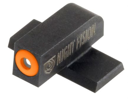 Night Fision Perfect Dot Front Night Sight for Springfield XD and XD-E Pistols, Green with Orange Outline - SPR-225-001-OGXX
