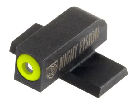 Night Fision Perfect Dot Front Night Sight for Springfield XD and XD-E Pistols, Green with Yellow Outline - SPR-225-001-YGXX