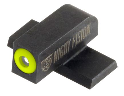 Night Fision Night Sight Set for Springfield XD, XD(M), XD Mod 2 Pistols, Green with Yellow Square Front, Green with White Square Rear - SPR-226-003-YGWG