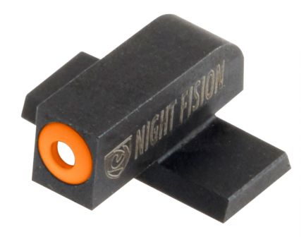 Night Fision Night Sight Set for Springfield XD, XD(M), XD Mod 2 Pistols, Green with Orange Square Front, Green with Black Square Rear - SPR-226-003-OGZG