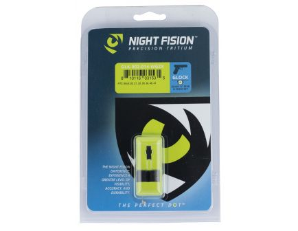 Night Fision Night Sight Set for Glock 20/21/29/30/31/32/36/40/41 Pistols, Green with White Square Front - GLK-002-014-WGZX