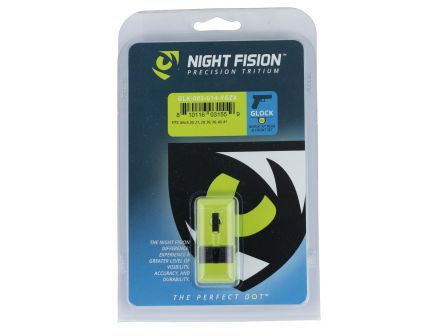 Night Fision Night Sight Set for Glock 20/21/29/30/31/32/36/40/41 Pistols, Green with Yellow Square Front - GLK-002-014-YGZX