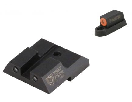 Night Fision Night Sight Set for CZ-USA P-07, P-09 Handguns, Green with Orange Square Front, Green with Black Square Rear - CZU-076-003-OGZG
