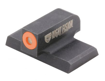 Night Fision Perfect Dot Front Night Sight for HK VP9 and VP9SK Handguns, Green with Orange Outline - HAK-125-001-OGXX