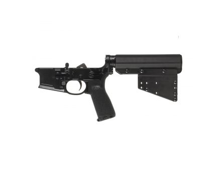 Primary Weapons Systems MK1 MOD 2-M Multi-Caliber Complete Lower Receiver for AR-15 Style Rifle, Anodized Black - 182M100PM1B
