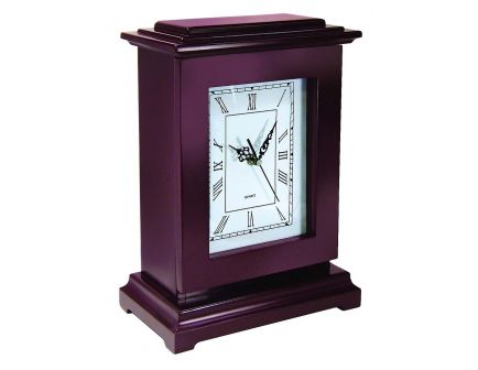 PS Products Peace Keeper Tall Gun Concealment Clock Personal Vault, Mahogany - RGC