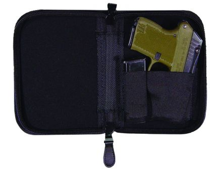 PS Products Peace Keeper Holster-Mate Pistol Case, Large, Black - NPCLBLK