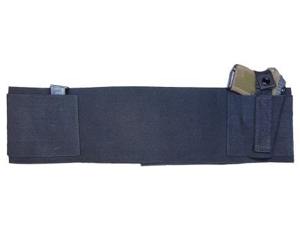 PS Products Large Handgun Concealed Carry Belly Band, Black - BELLYBANDL