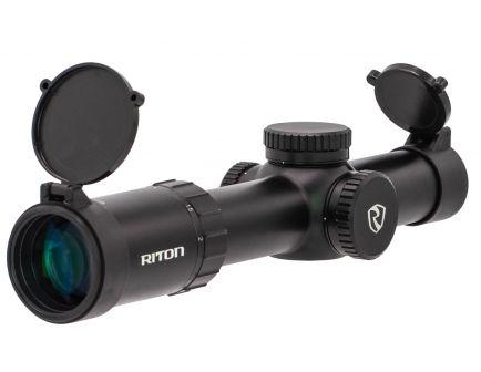 Riton Optics RT-S Mod 7 1-8x28mm Riton German #4 Mod 1 Illuminated (SFP) Rifle Scope - 52566