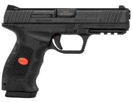 SAR USA SAR9 9mm Pistol, Blk - SAR9BL