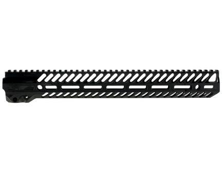 "Seekins Precision NOXS M-LOK 15"" AR-15 1-Piece Free Float Handguard System, Black - 10530053"