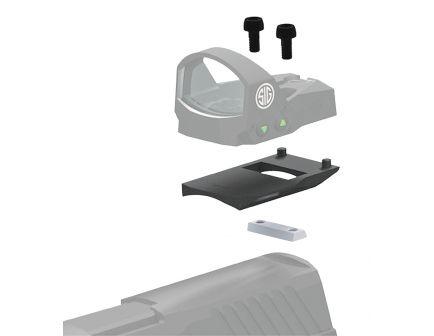 Sig Sauer ROMEO1 1-Piece Mounting Kit Base for Heckler and Koch P2000 Pistol, Black - SOR1MK005