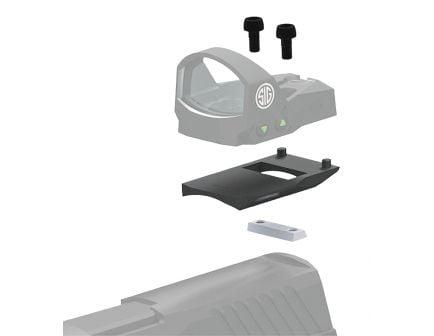 Sig Sauer ROMEO1 1-Piece Mounting Kit Base for Glock Pistols, Black - SOR1MK011