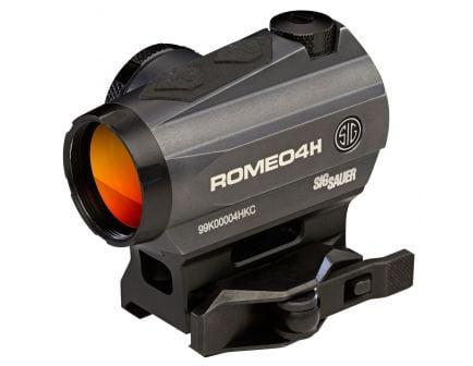 Sig Sauer Electro-Optics ROMEO4H 1x20mm Green Dot Sight - SOR43013