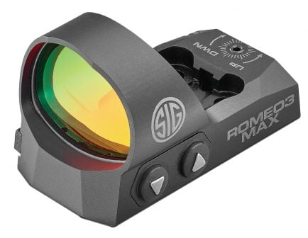 Sig Sauer Electro-Optics ROMEO3MAX 1x30mm Red Dot Sight, 3 MOA Dot - SOR31003