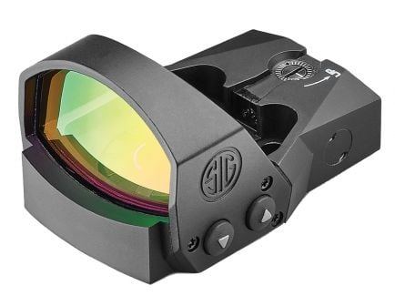 Sig Sauer Electro-Optics ROMEO1PRO 1x30mm Red Dot Sight, 6 MOA Dot, Black - SOR1P101