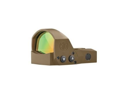 Sig Sauer Electro-Optics ROMEO1PRO 1x30mm Red Dot Sight, 6 MOA Dot, Flat Dark Earth - SOR1P103