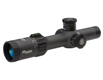 Sig Sauer Electro-Optics TANGO4 1-4x24mm Illuminated MOA Milling Rifle Scope - SOT41113