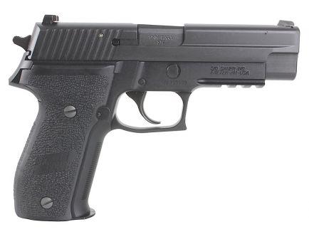 Sig Sauer P226 Nitron Full-Size 9mm Semi-Automatic Pistol, Hardcoat Anodized Black - 226R-9-BSS