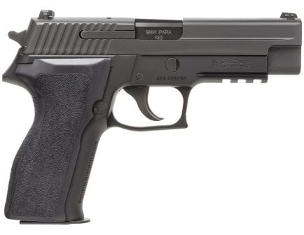 Sig Sauer P226 Nitron Full-Size 9mm Semi-Automatic Pistol, Hardcoat Anodized Black - 226RM-9-BSS