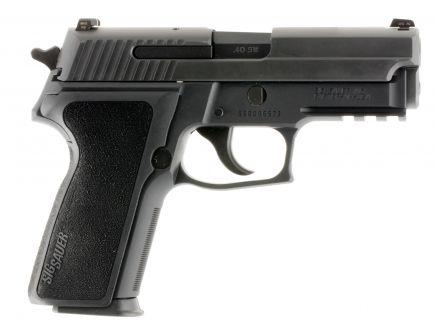 Sig Sauer P229 Nitron Compact .40 S&W Semi-Automatic Pistol, Hardcoat Anodized Black - 229R-40-BSS