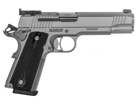 Sig Sauer 1911 Match Elite Full-Size 9mm Semi-Automatic Pistol, Stainless - 1911T-9-SME