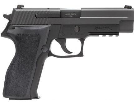 Sig Sauer P226 Nitron Full-Size 9mm Semi-Automatic Pistol, Hardcoat Anodized Black - 226R-9-BSS-CA