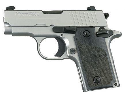 Sig Sauer P238 HD Micro-Compact California Compliant .380 ACP Semi-Automatic Pistol, Stainless - 238-380-HD-CA