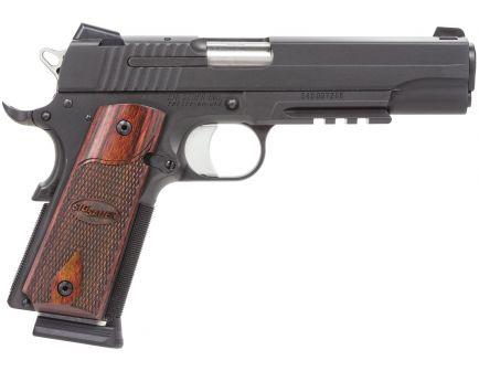 Sig Sauer 1911 Full-Size .45 ACP Pistol, Black Nitron - 1911R-45-BSS-CA