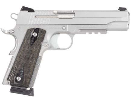 Sig Sauer 1911 California Compliant .45 ACP Semi-Automatic Pistol, Stainless - 1911R-45-SSS-CA