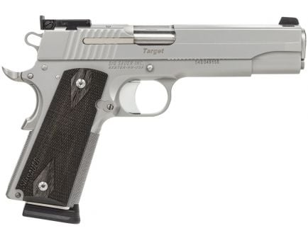 Sig Sauer 1911 Target Full-Size California Compliant .45 ACP Semi-Automatic Pistol, Stainless - 1911-45-S-TGT-CA