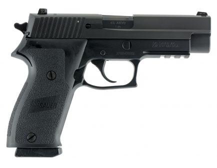 Sig Sauer P220 Nitron Full-Size .45 ACP Semi-Automatic Pistol, Hardcoat Anodized Black - 220R-45-BSS-CA