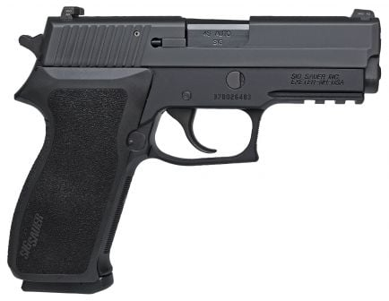 Sig Sauer P220 Carry .45 ACP Pistol, Hardcoat Anodized Black - 220R3-45-BSS-CA