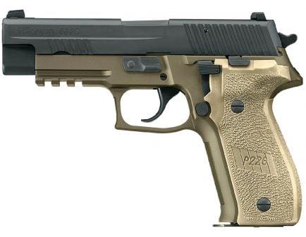 Sig Sauer P220 Combat Full-Size California Compliant .45 ACP Semi-Automatic Pistol, Hardcoat Anodized FDE - 220-45-CP-DS-CA