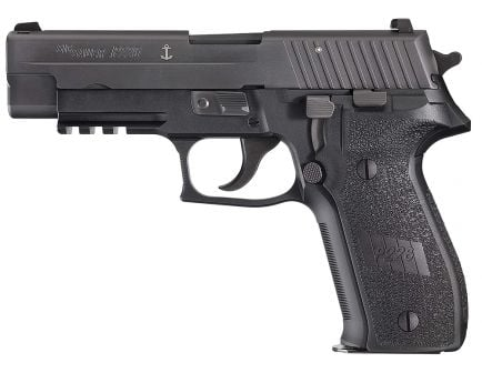 Sig Sauer P226 MK25 Full-Size 9mm Semi-Automatic Pistol, Hardcoat Anodized Black - MK-25-CA