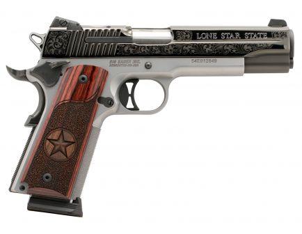 Sig Sauer 1911 Texas Engraved Two-Tone .45 ACP Pistol, Stainless - 191145TXS