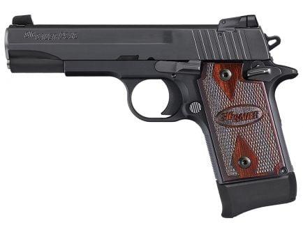 Sig Sauer P938-22 Target Micro-Compact .22lr Semi-Automatic Pistol, Hardcoat Anodized Black - 938-22-B-TGT-AMBI