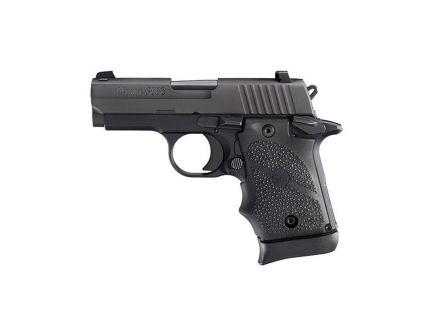 Sig Sauer P938 BRG Micro-Compact 9mm Semi-Automatic Pistol, Hardcoat Anodized Black - 938M-9-BRG-AMBI