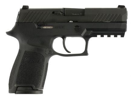 Sig Sauer P320 Nitron Compact 9mm Semi-Automatic Pistol, Blk - 320C-9-B-10