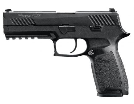 Sig Sauer P320 Nitron Full-Size 9mm Semi-Automatic Pistol, Stainless - 320F-9-B-10