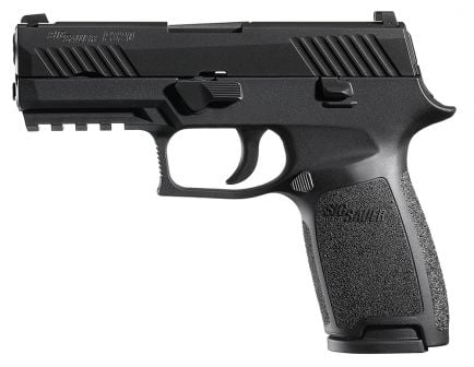 Sig Sauer P320 Nitron Carry .357 Sig Semi-Automatic Pistol, Stainless - 320CA-357-BSS
